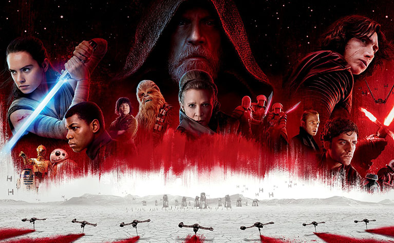 Star Wars The Last jedi mobile